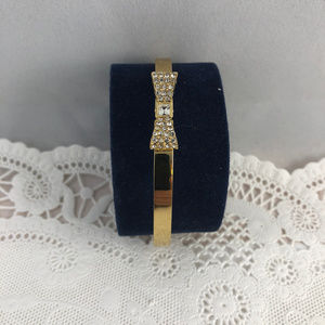 kate spade Jewelry - kate spade new york Gold Ready Set Bow Bangle
